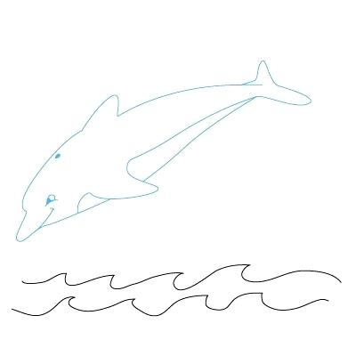 400x400 how to a dolphin how to draw a dolphin step dolphin