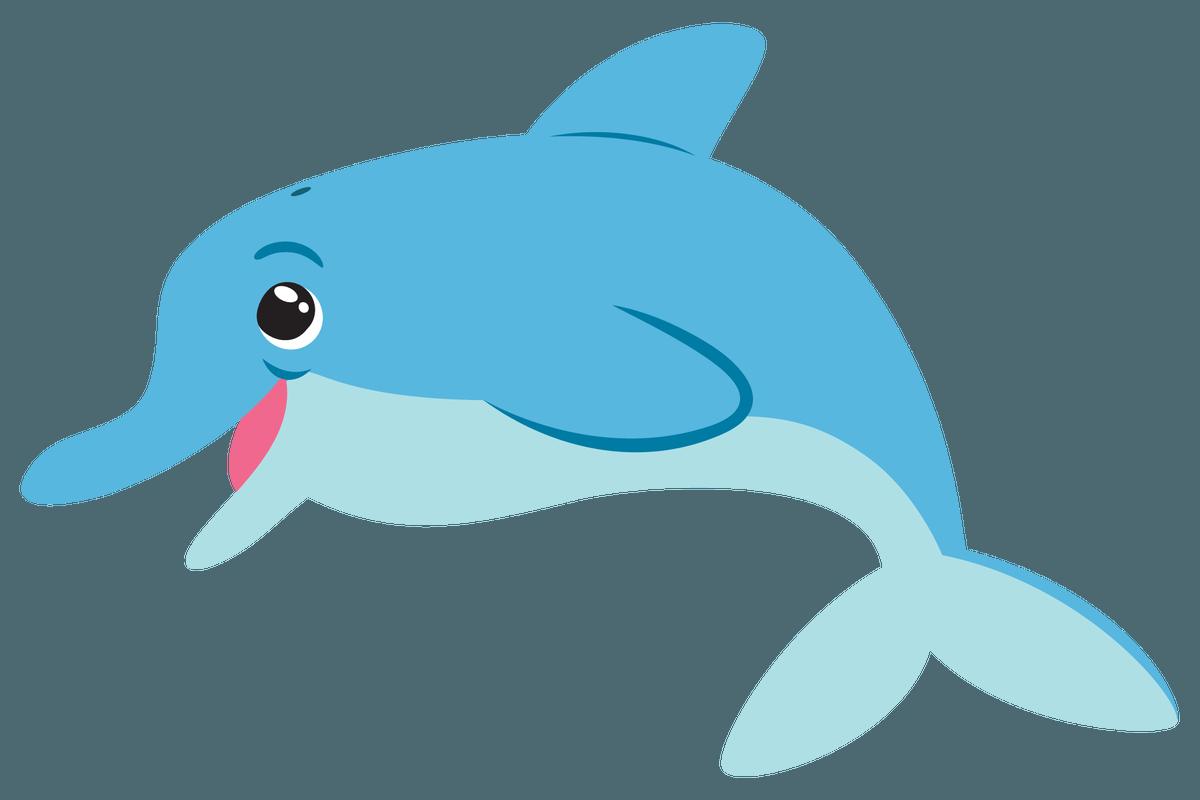 Dolphin Fish Drawing