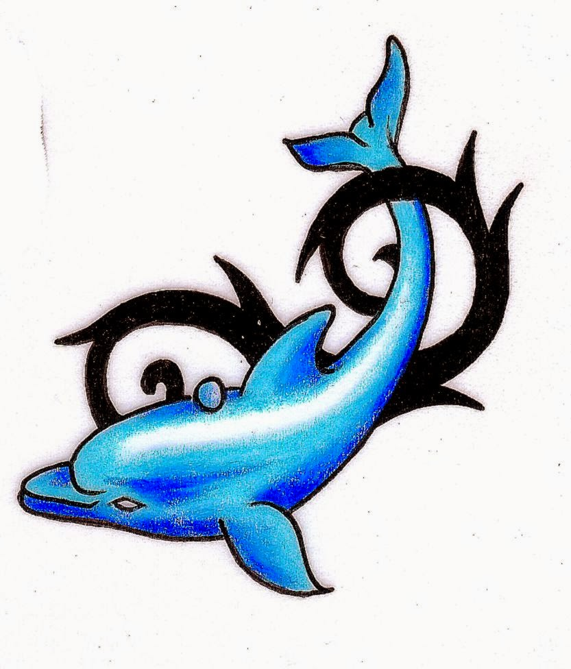 833x976 Dolphin Tattoo Free Tattoo Pictures