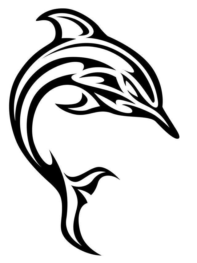 640x853 Dolphin Tattoo Designs