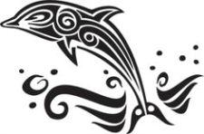 225x148 Dolphin Tattoo Ideas Tattoo Symbolism Designs