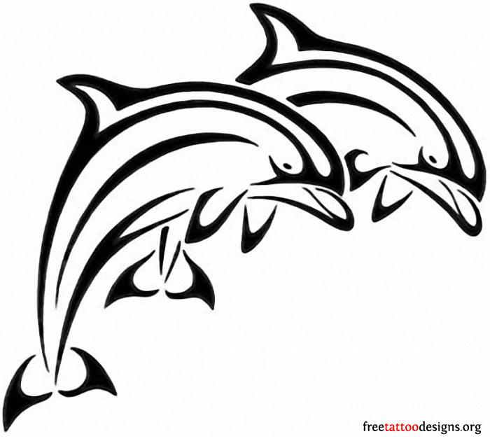 700x630 Jumping Ocean Dolphin Tattoo Design Tattoo Ideas