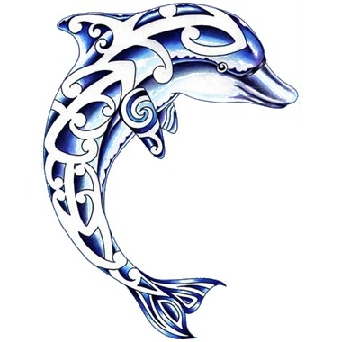 380x380 Latest Dolphin Tattoo Designs And Ideas