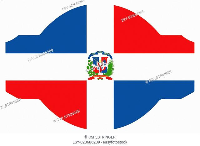 640x466 Dominican Republic Flag Icon Stock Photos And Images Age Fotostock