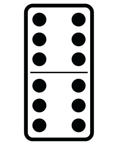 390x480 dominoes clip art blank domino freakingawesome