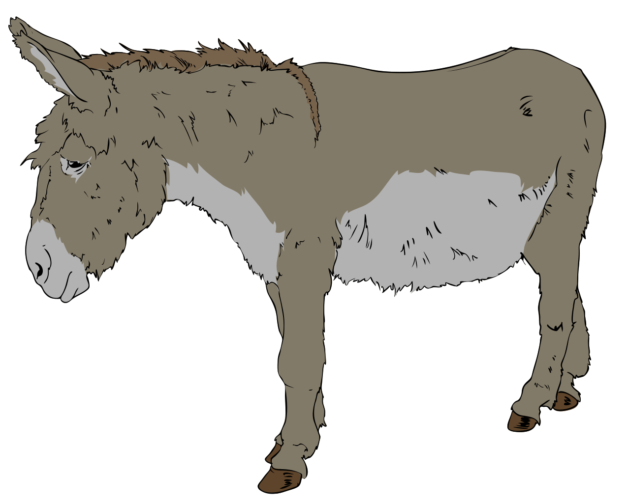 1276x1024 Cliparts For Free Download Donkey Clipart And Use