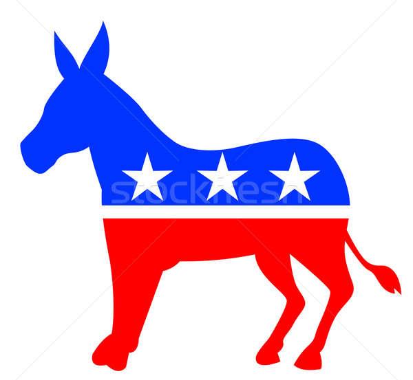 600x553 Outline Donkey American Colours Stock Photo Aloysius Patrimonio