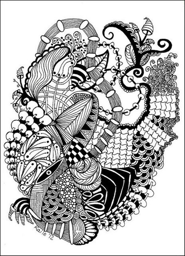 Doodle Art Drawing