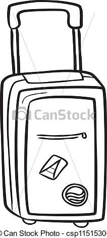 212x470 Drawing Clipart Bag