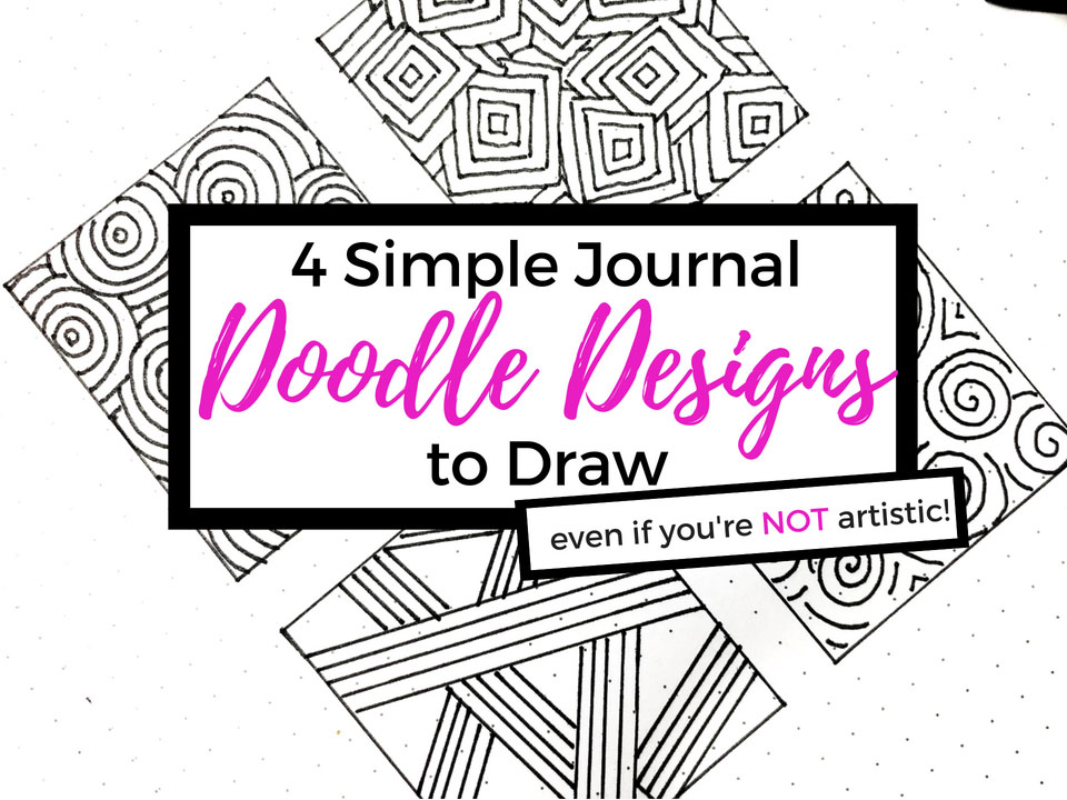 960x720 Easy Doodles To Draw In Your Journal