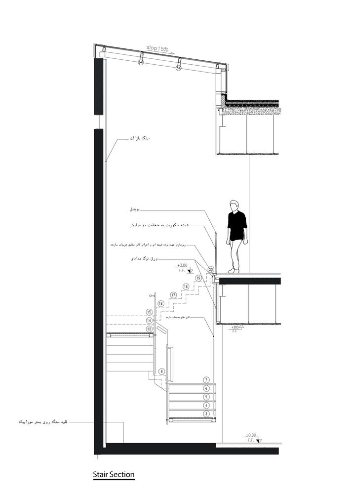 707x1000 Gallery Of Arghavan Family Apartment Alidoost Partners