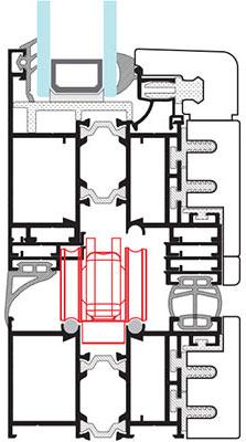 223x400 Aw Bi Fold Door