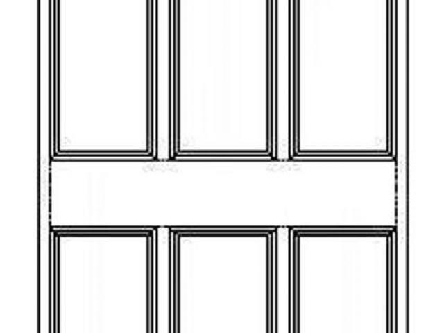 640x480 Door Clipart Line Drawing