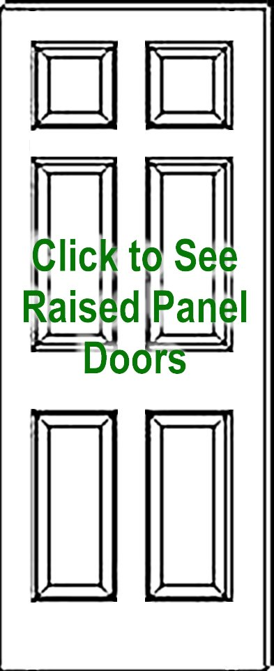 393x960 standard panel true raised panel door drawing click to see
