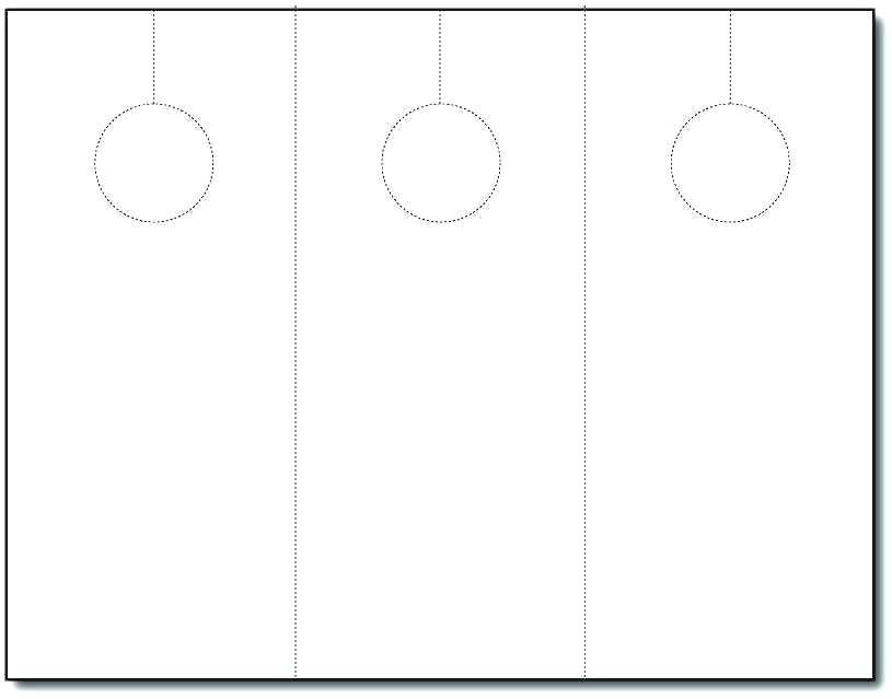 815x639 Door Hanger Template Blank Printable Word Inspirational Wedding