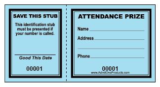 324x177 Door Prize Tickets