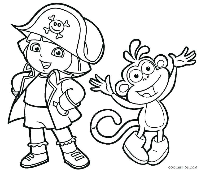 850x732 Dora And Friends Coloring Pages Awesome Dora And Friends Coloring