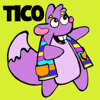 350x350 How To Draw Tico From Dora The Explorer With Step