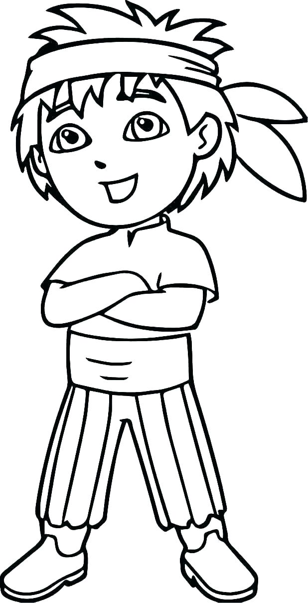 618x1209 Dora Coloring Pages Printable