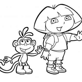 Dora Drawing Games