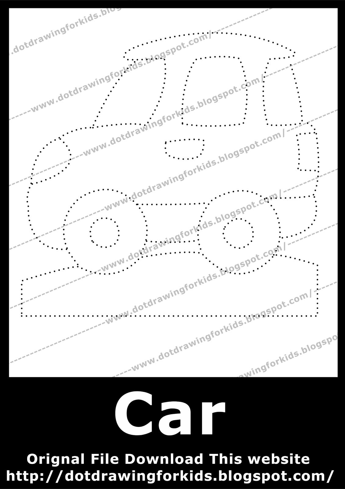 1131x1600 dot drawing for kids car dot drawing for kids, dot to dot