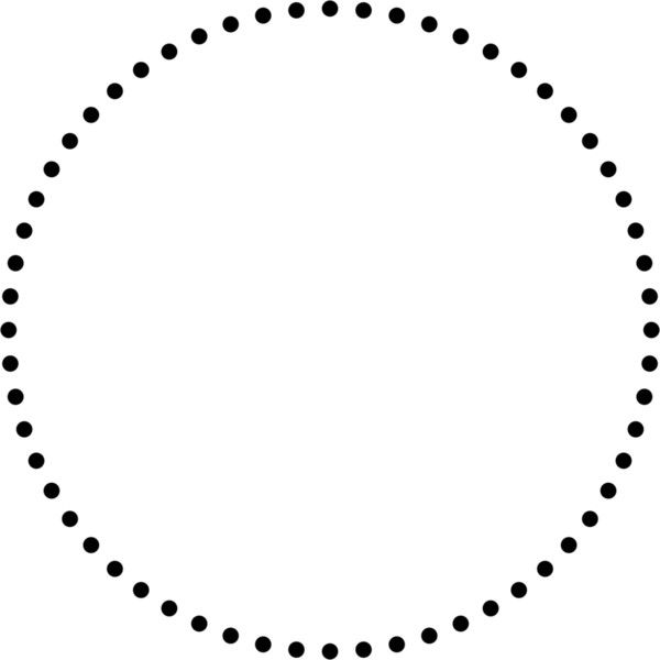 600x600 Creating Dotted Lines That Are Actually Circles Liked
