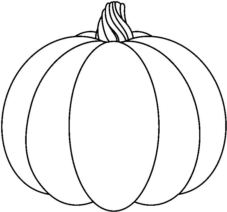 758x708 Pumpkin Drawing For Free Download