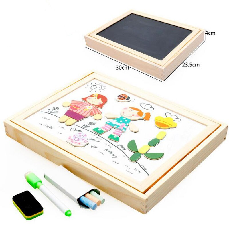 800x800 styles multifunctional magnetic board double face drawing board