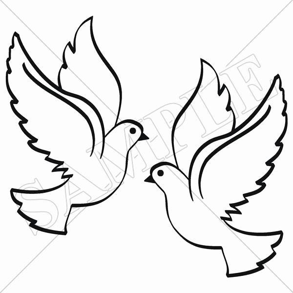 600x600 Holy Spirit Dove Drawing Beautiful Catholic Crosses Drawing