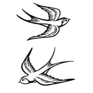 300x300 Traditional Dove Tattoo With Pancreatic Cancer