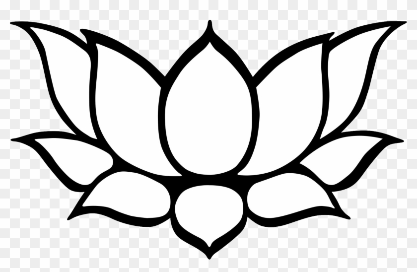 840x548 Lotus Flower Drawing, Hd Png Download