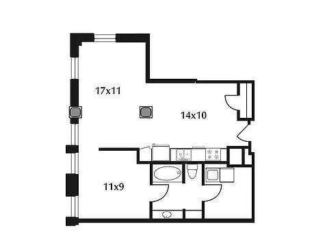 478x359 Dallas Power And Light Lofts Apartment Rentals