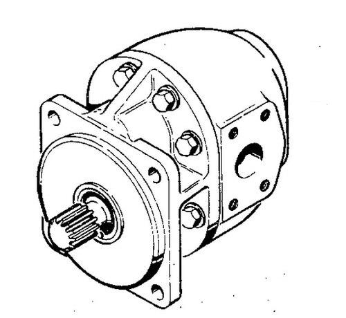 500x460 case hydraulic pump hydraulic pump coupler