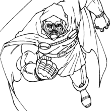 220x220 Doctor Doom On The Prowl Coloring Pages