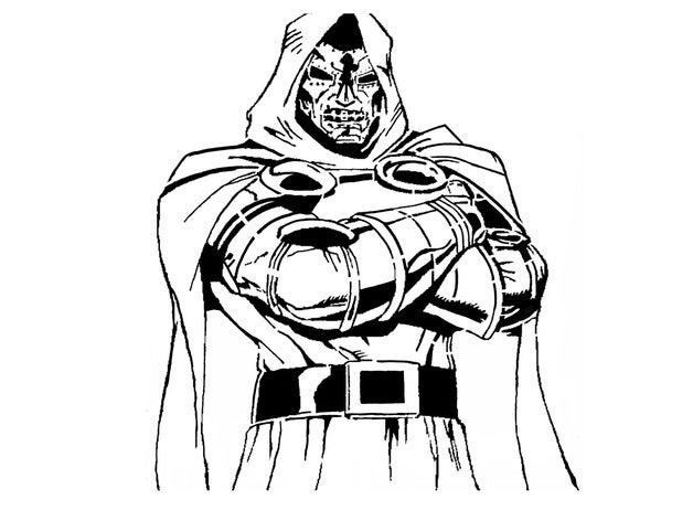 628x472 Dr Doom Stencil
