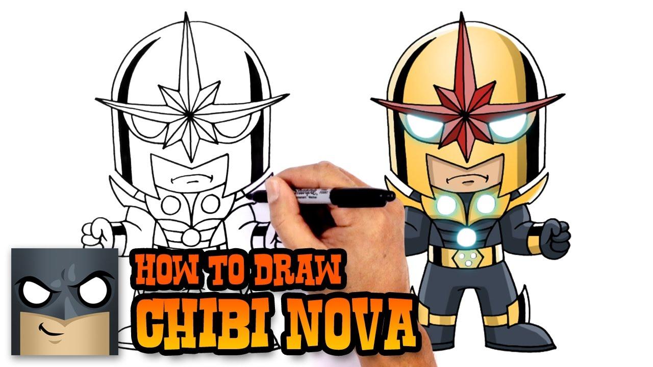 1280x720 How To Draw Nova Marvel Comics