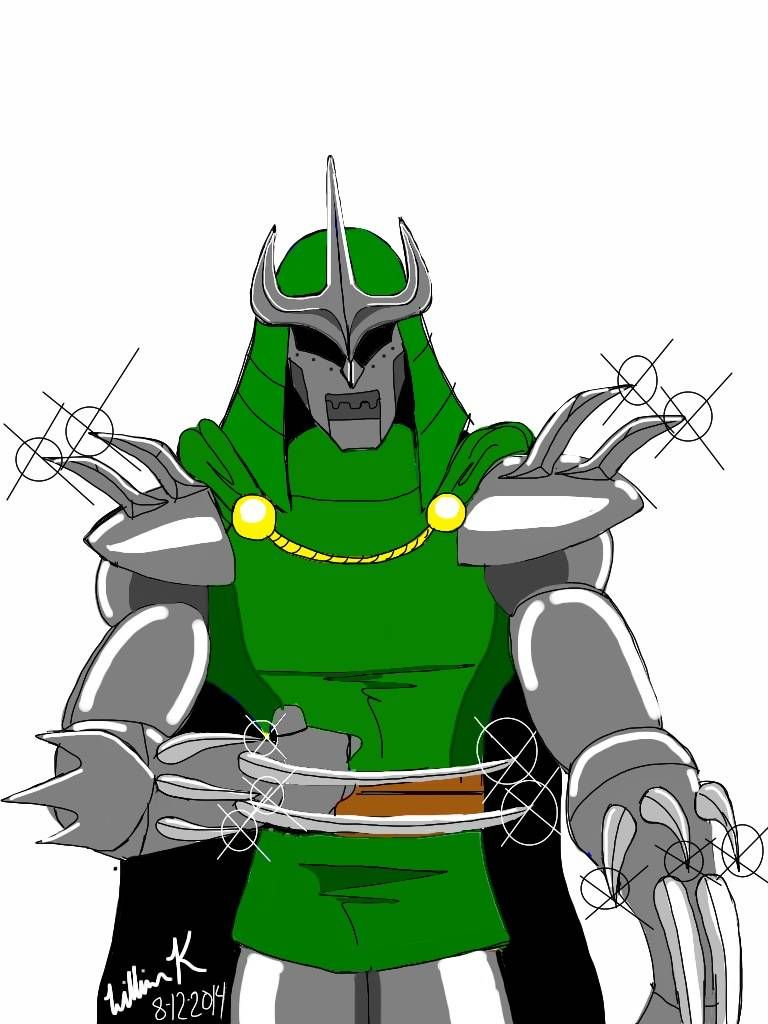 768x1024 Shredderdoctor Doom My Amalgam Comics Ipad Art More!
