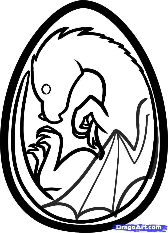 714x990 how to draw a dragon egg step dragons dragon egg, egg