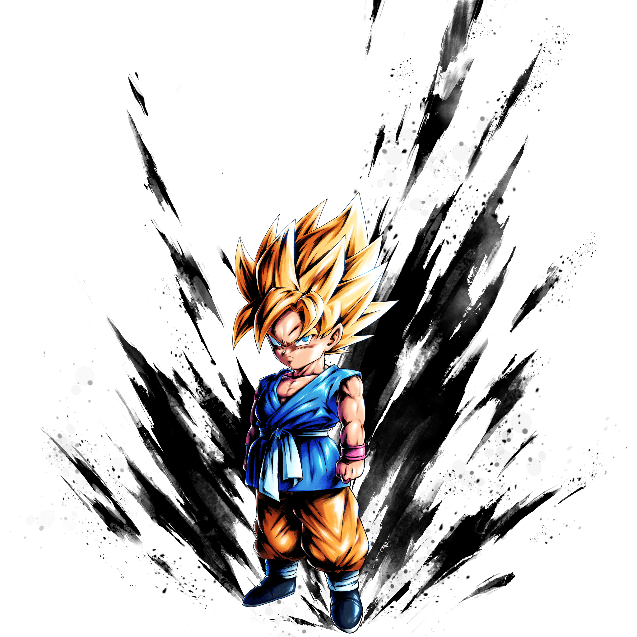 2048x2048 Sp Super Saiyan Kid Goku
