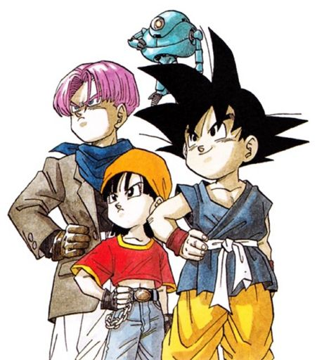 451x512 Ten Good Things About Dragonball Gt Anime Amino