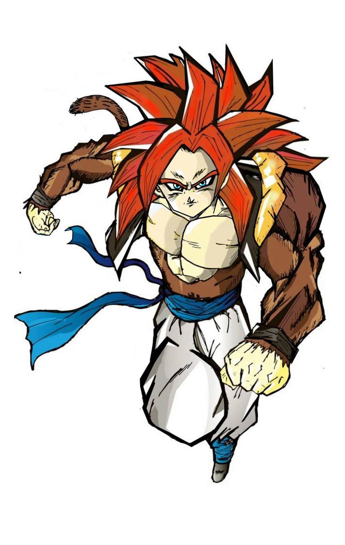 712x1123 Gogeta Fase Dragon Ball Gt