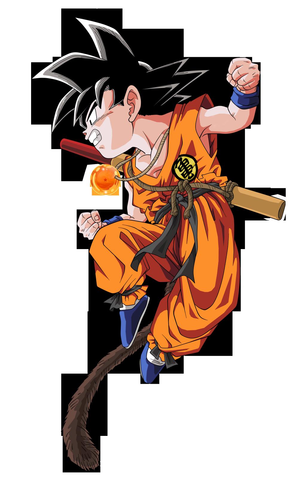 1000x1600 Kid Goku