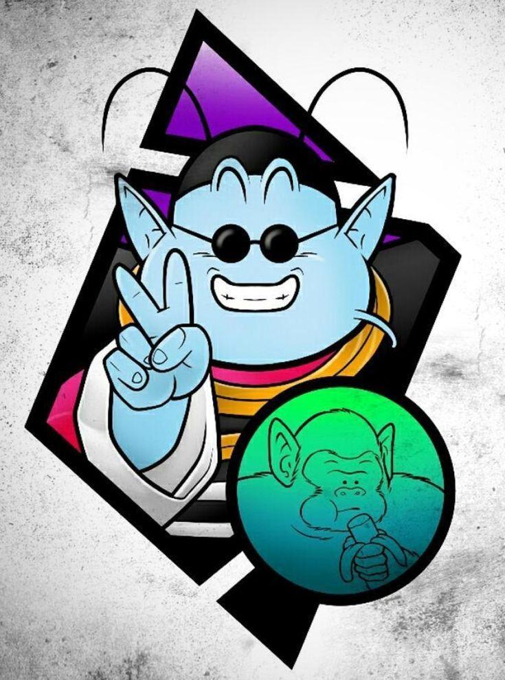 735x990 King Kai Bubbles,  Dragon Ball Z