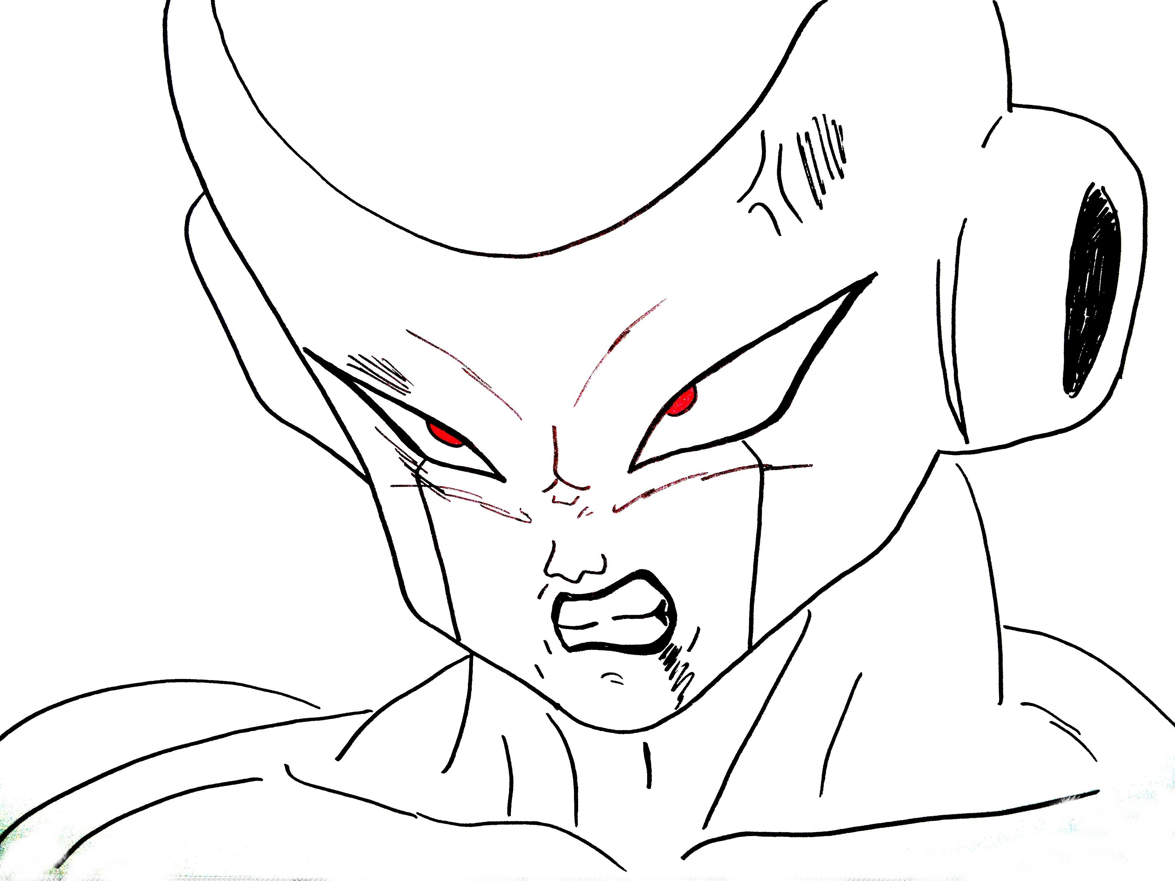 Dragon Ball Z Trunks Drawing