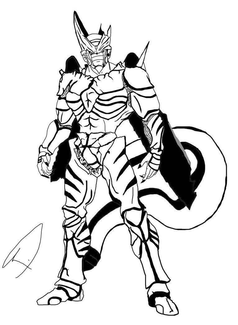 Dragon Ball Z Vegeta Drawing