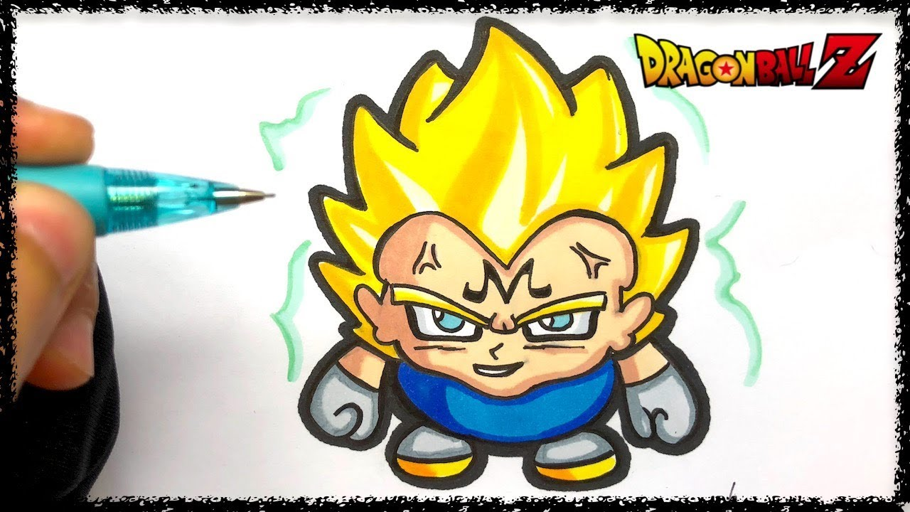Dragon Ball Z Vegeta Drawing Free Download On Clipartmag