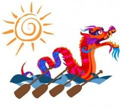 250x220 dragon boat merchandise dragon boat logo dragon boat dragon