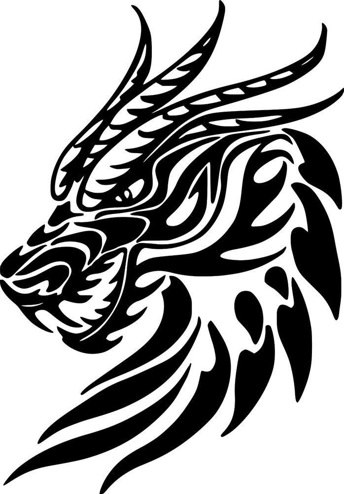 Dragon Charcoal Drawing