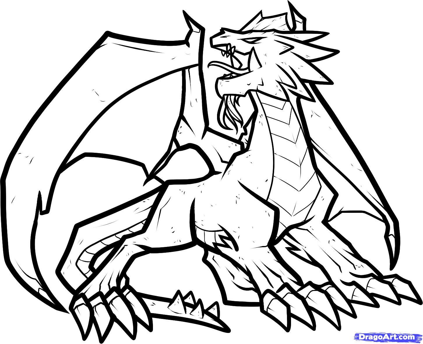 Dragon City Drawing