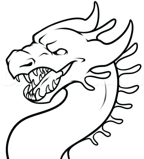 Dragon Drawing Easy